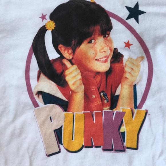 Punky Brewster 90 S Retro Tee Shirt